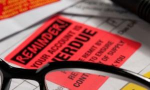 final demand for overdue bills