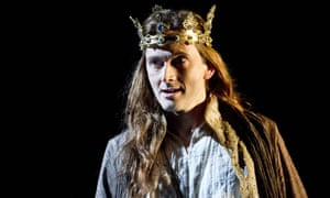 David Tennant as Richard II, 2013.