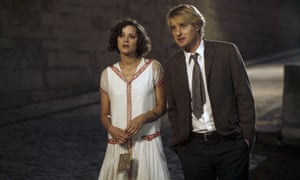 Marion Cotillard and Owen Wilson in Midnight in Paris.