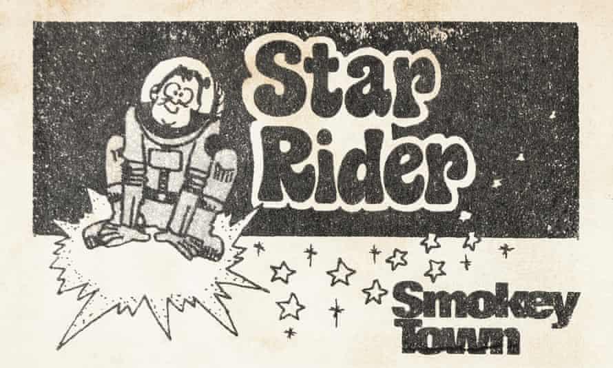 Star Rider eyeball card.