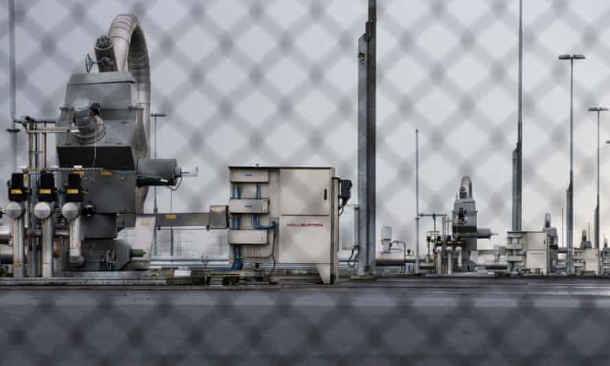 ExxonMobil's huge Groningen gas field in the Netherlands