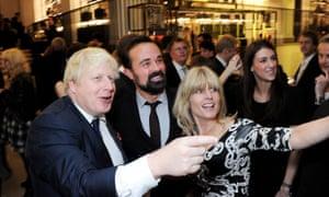 Boris Johnson and Rachel Johnson attend the London Evening Standard's 1000 Most Influential Londoners.