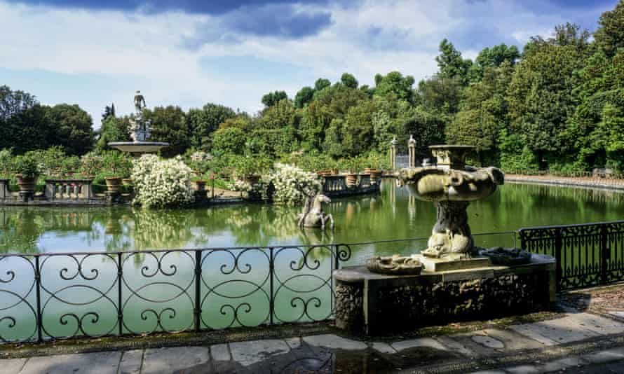 The Boboli Gardens, one of the jewels of Florence that captivated Diana Athill.