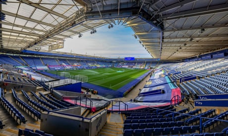 Leicester reveal plans to increase King Power capacity by 25% to 40,000