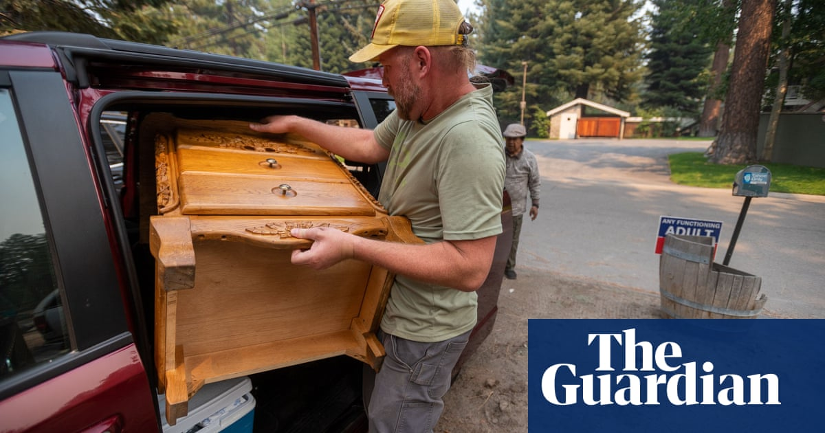 'We do it together': how a Lake Tahoe community prepared to flee the Caldor fire