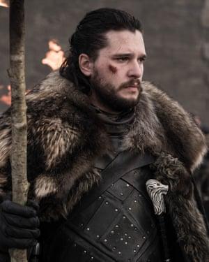 The rightful heir? Jon Snow (Kit Harington).