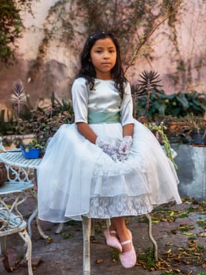 "First Communion, Mexico City, 2019""Humour, ritual, and a strong sense of community and an embrace of the inevitable make it possible to live with tragic and often unacceptable situations."""