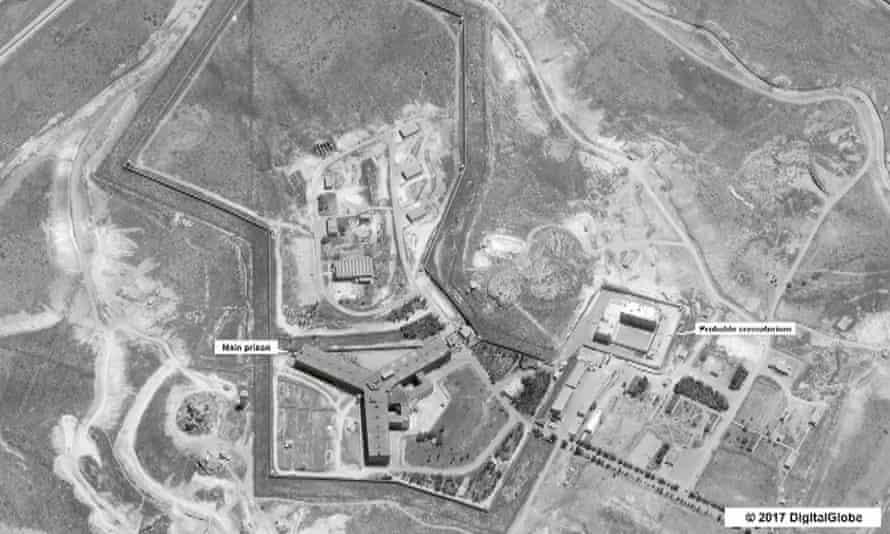 Saydnaya military prison.