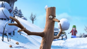 Following The Gruffalo, The Gruffalo's Child and Room on the Broom, Julia Donaldson and Axel Scheffler's Stick Man has become the fourth book by Julia Donaldson and Axel Scheffler to be made into a short film by Magic Light.<br><br>The book and film tell the story of Stick Man, who lives in the family tree with his Stick Lady Love and stick children three. But he is ensnared in lots of cases of mistaken identity - he is used as part of a nest, the flag on a sandcastle, the arm of a snowman and much more! - and is taken further and further away from his family throughout the seasons.