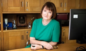 Harriet Harman in her office at Portcullis House in Westminster