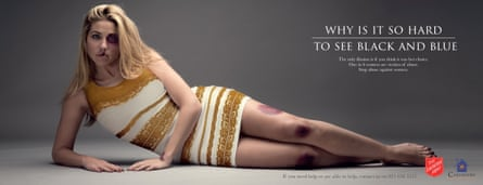 A Salvation army domestic violence campaign launched in South Africa.