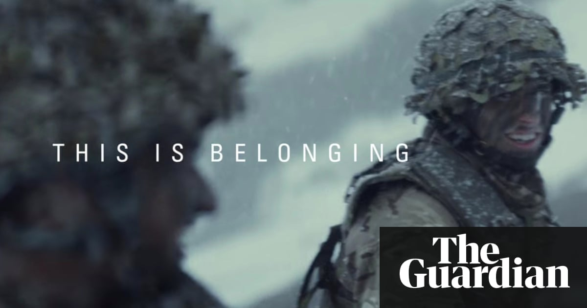 British army is targeting working class young people report shows this is belonging advert from the british army spiritdancerdesigns Choice Image