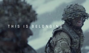 This is Belonging advert from the British Army.