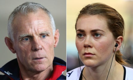 The allegations made by Jess Varnish, right, against former British Cycling technical director Shane Sutton, left, led to the independent investigation.
