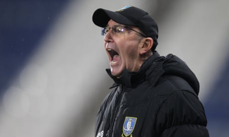 Tony Pulis sacked by Sheffield Wednesday after 10 games in charge