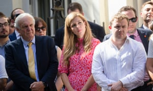Boris Johnson And Carrie Symonds Move Into Downing Street Politics