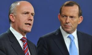 Eric Abetz and Tony Abbott