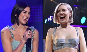 Dua Lipa and Anne-Marie.