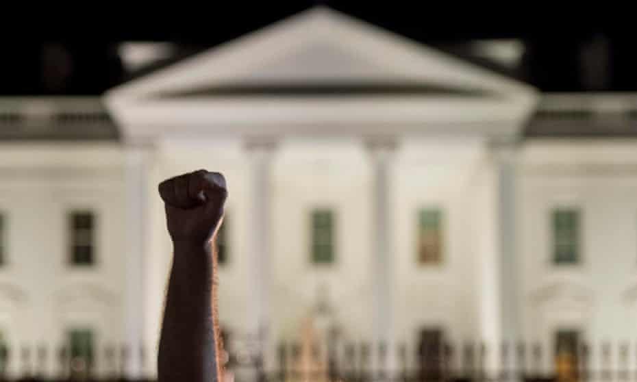 ferguson fist white house