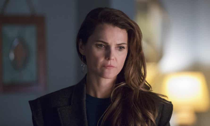 """Keri Russell in a scene from """"The Americans""""."""