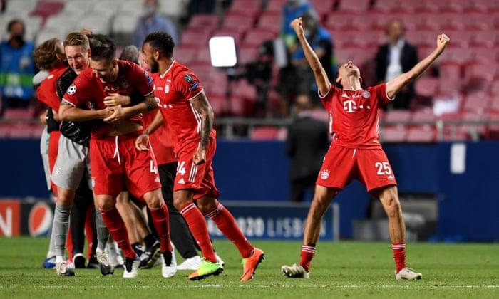Psg 0 1 Bayern Munich Champions League Final As It Happened Football The Guardian