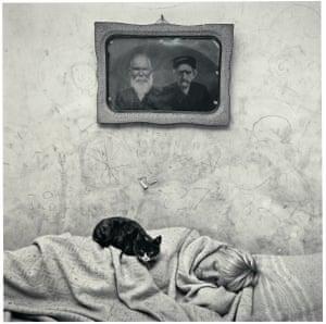 Roger Ballen Portrait of Sleeping Girl, 2000