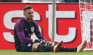 Jack Butland is still recovering from the ankle fracture he sustained in England's win over Germany almost six months ago.