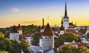 Tallinn's fairytale old town. The city has been named the world's best value destination for 2018.