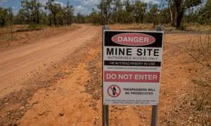 General views of Adani mine site lease area. November 2019.