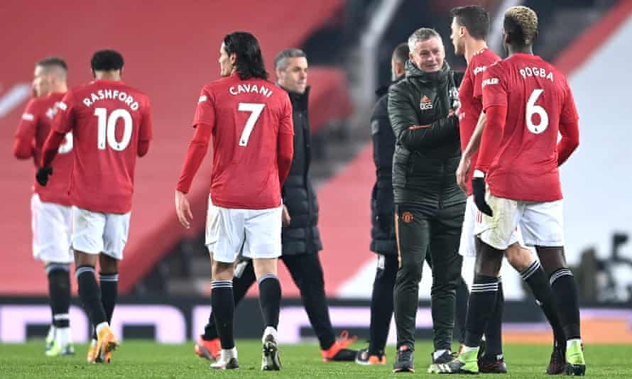 'I can trust them more and more to look after themselves,' Ole Gunnar Solskjær says of his United players