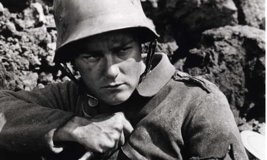A still from the classic film, All Quiet On The Western Front (1930).