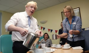 Boris Johnson on the campaign trail: 'Why are journalists reporting these tired stunts?'