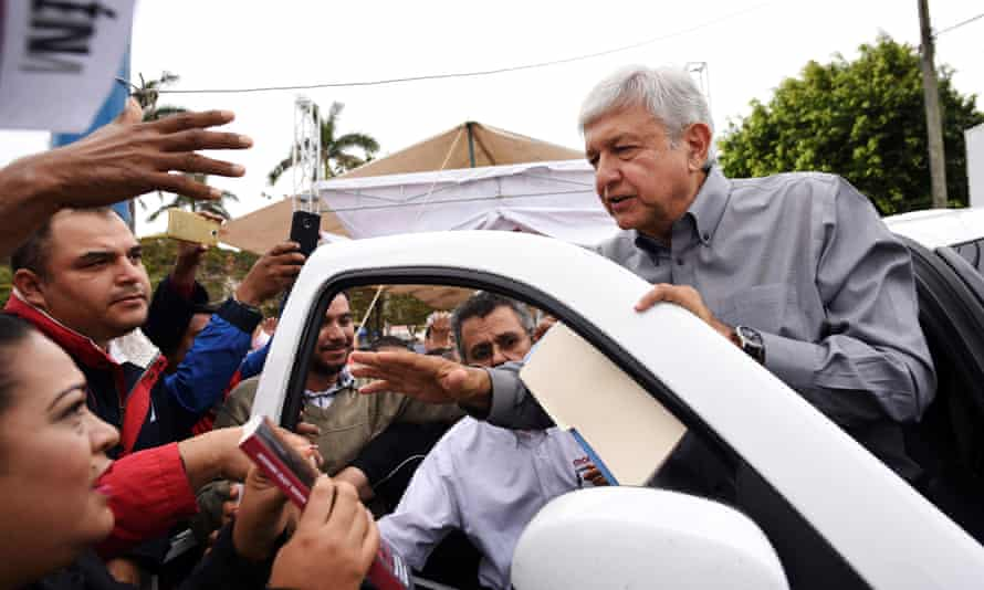 Amlo joked that he was waiting for a submarine to bring 'gold from Moscow' and said he was now known as 'Andrés Manuelovich'.