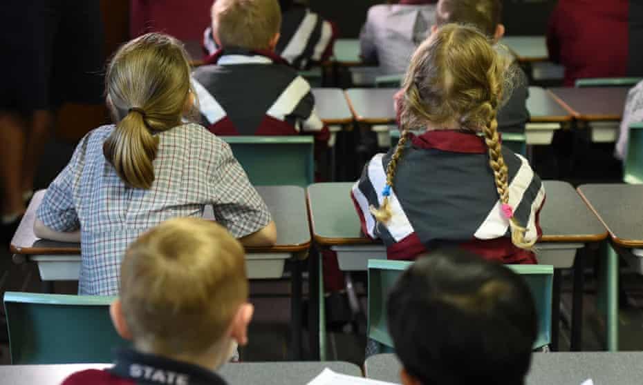 Children in a Brisbane classroom