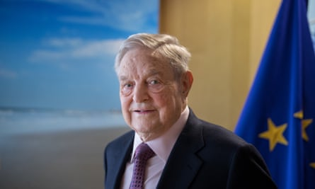 'George Soros is credited with the supernatural powers to bring down governments.'