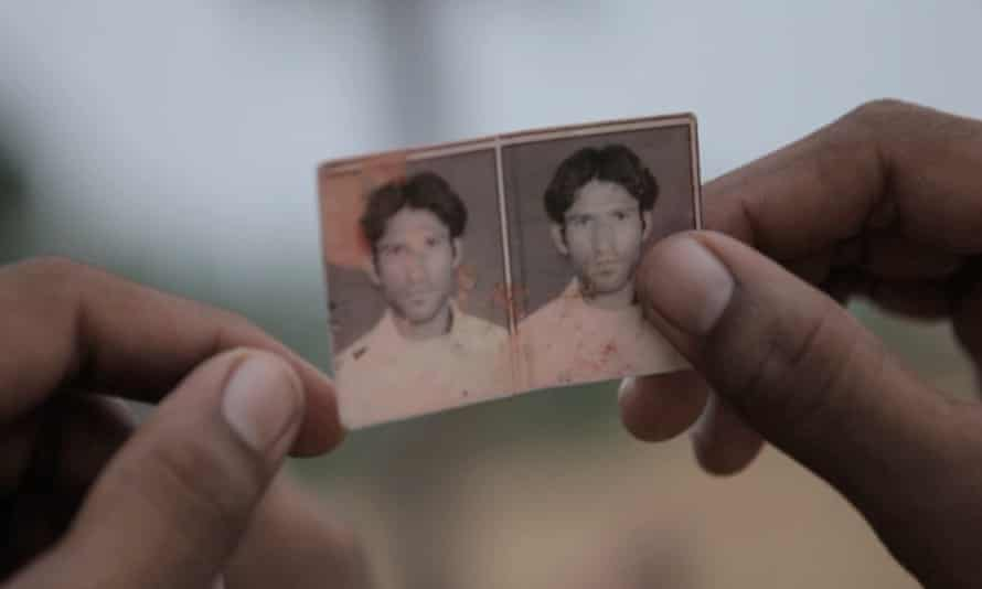 Murdered farmer Rakbar, from The Hour of Lynching documentary