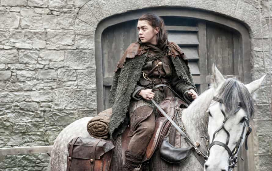 Arya the adolescent assassin.