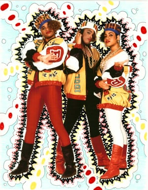 """Fashion designer and graffiti artist Claudia Gold, aka Claw Money says: """"I started writing in my early 20s — I was late to the party! The first wall I ever painted was in JonOne's studio in Paris in 1990. I chose Salt-N-Pepa. This was all about female empowerment and I loved these girls for it!"""""""