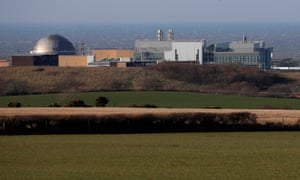 Sellafield nuclear plant near Whitehaven.