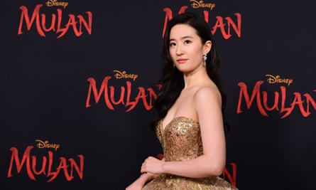 US-Chinese actress Yifei Liu, who stars in Mulan