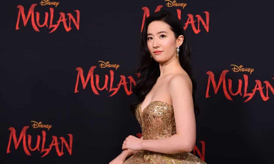 US-Chinese actress Yifei Liu, who stars in Mulan