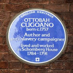 Ottobah Cugoano Blue Plate