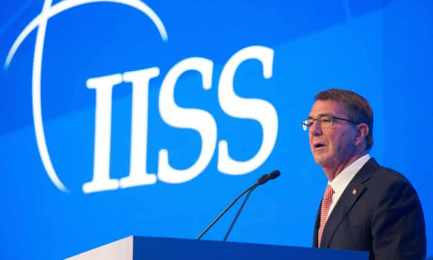 Ash Carter, the US secretary of defence
