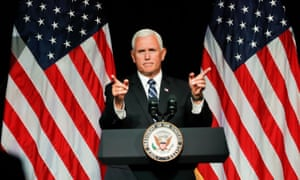 An argument against impeachment? The possible future president, Mike Pence.