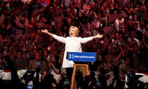 Hillary Clinton California primary night Brooklyn  New York June 2016.