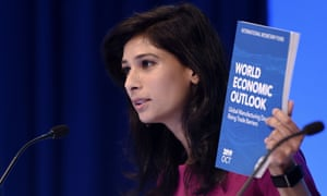 IMF chief economist, Gita Gopinath