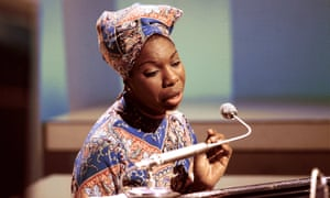 Nina Simone in a scene from What Happened, Miss Simone?
