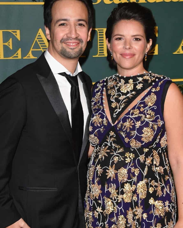 Miranda with his wife Vanessa Nadal