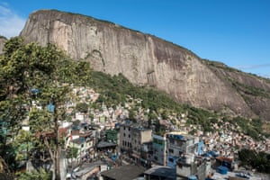 A view of Rocinha favela in Rio
