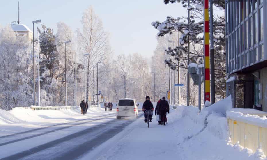 Cycling in Joensuu